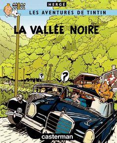 Les Aventures de Tintin - Album Imaginaire - La Vallée Noire