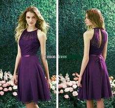 New Fashion Short Cocktail Formal Evening Party Prom Bridesmaid  Dress Size 6-18