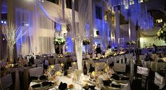 Cescaphe Event Group | Philadelphia's Premier Wedding Brand | The Atrium at the Curtis Center