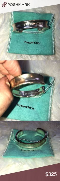 Tiffany & Co. Tiffany & Co. small silver cuff Tiffany & Co. Jewelry Bracelets