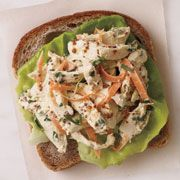 Chicken Salad with Carrots, Mustard and Tarragon - Easy Chicken Recipes - Woman's Day 276 Calories