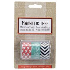 Magnetklebeband 3Stck 20mmx60cm ver.Var