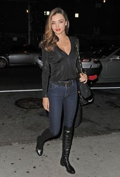 Miranda Kerr - Celebs Enjoy a Late Night Out in NYC