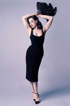 Dita Von Teese releases a new capsule collection of five dresses - hellomagazine.com