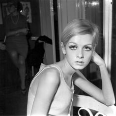 Twiggy, 1966   The model got her famous cut in 1966 when celebrity hair stylist Leonard was looking for models on whom to try out his new crop haircut.