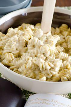 Five-Cheese, Fifteen-Minute Stovetop Mac 'n Cheese
