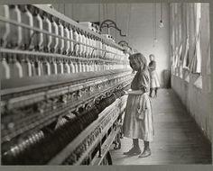 Lewis Hines - Textile Factory