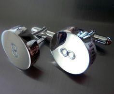 Sterling silver cufflinks. Sterling Silver Cufflinks, Design Your Own, Jewelry Design, Men, Accessories, Guys, Jewelry Accessories
