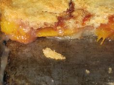 Dessert is always a good thing. This dessert is make from a simple combination of ingredients that go together quickly to create a sweet and delicious cobbler with minimum stress for the cook. Nectarine Cobbler, Food Words, Something Sweet, Cheesesteak, Fresh Fruit, Lasagna, Pantry, Sweet Tooth, Cooking