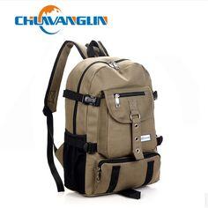 9180f0d1dce9 Arcuate Shoulder Strap Zipper Solid Casual Bag Male Backpack School Bag  Canvas Bag Designer Backpacks For Men.
