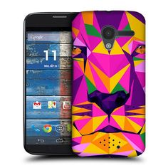 HEAD CASE TIGER GEOMETRIC ANIMAL PROTECTIVE BACK CASE COVER FOR MOTOROLA MOTO X