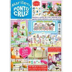 Revista Marileny Ponto Cruz 19 / Magazine Marileny Cross Stitch 19 visit www.marileny.net