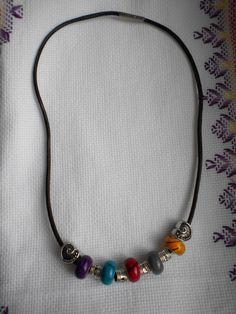 collana raimbow di Lullaby & Bells Angy design su DaWanda.com