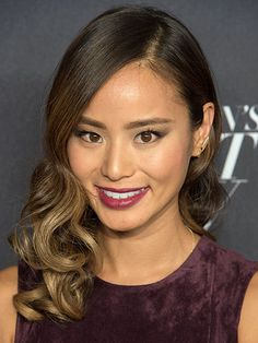 The Best Celebrity Hair-Color Inspiration for Winter: Jamie Chung's soft ombre hair | allure.com