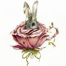 tattoo to represent my Scarlett ruby rose, who I call bunny :)
