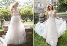 Alvina Valenta | Brides of North Texas. #AlvinaValenta #WeddingGown #WeddingDress #DesignerWedding #Fashion #Bridal