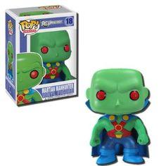 Amazon.com: Funko POP Heroes Vinyl - Martian Manhunter: Toys & Games