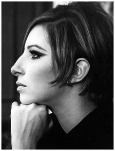 Barbra Streisand during filming of Funny Girl, photo by Pierluigi Praturlon New York, 1968
