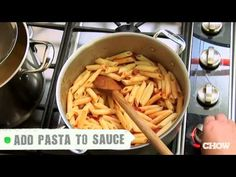 Cooking pasta isn't rocket science, but cooking pasta well is definitely an acquired skill—one that takes a little guidance. We've shown you the right way to cook pasta and how to match your pasta with the right sauce: now let's set you straight on how to properly sauce your pasta once it's cooked.