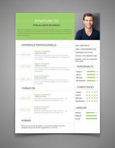 curriculum vitae modele  Modèle de CV créatif Design moderne curriculum vitae par ResumeMuse ...