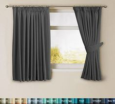 H.Versailtex Solid Thermal Insulated Blackout Pencil Pleat Curtains for Bedroom with Two Matching Tiebacks - Char No description http://www.comparestoreprices.co.uk/december-2016-week-1/h-versailtex-solid-thermal-insulated-blackout-pencil-pleat-curtains-for-bedroom-with-two-matching-tiebacks--char.asp