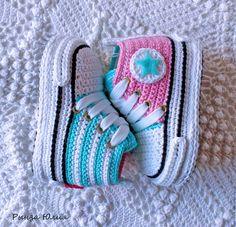 """Детская обувь ручной работы. Ярмарка Мастеров - ручная работа. Купить Кеды """"Конверсы"""". Handmade. Комбинированный, конверсы, вязаные вещи"""