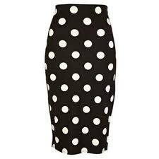 black with white dots