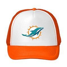 Men's Women's cotton Miami Dolphins NFL 2016 sun cap Baseball Hat -- Awesome products selected by Anna Churchill