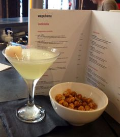 Ginger Lychee Martini - now on the Cocktail Menu at Wagamama