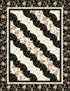 black and white quilts patterns - Google Search