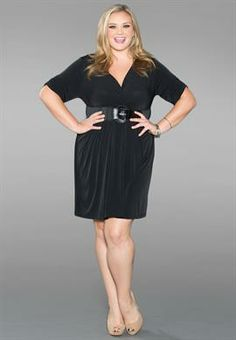 Plus Size Fiona Belted Dress image