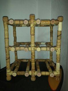 Wine rack Handmade by Edi