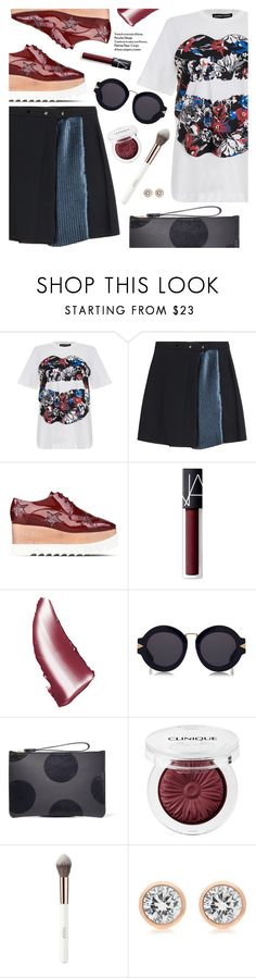 """""""Street Chic"""" by pokadoll ❤ liked on Polyvore featuring Markus Lupfer, STELLA McCARTNEY, NARS Cosmetics, Karen Walker, Sophie Hulme, Clinique, Michael Kors, polyvoreeditorial, polyvorefashion and polyvoreset"""