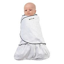 HALO SleepSack Swaddle Wearable Blanket - Navy Pin Dot (Newborn) preferred by my son over the Swaddle Me Blankets ... fyi ... check the actual Halo website for awesome deals!