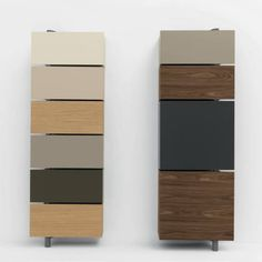 The Giralot is a wall-mounted, space-saving storage system available in a variety or widths, depths and finishes. Many interior options available as well. Condo Furniture, Space Saving Furniture, Deco Furniture, Furniture Storage, Furniture Board, Condo Interior, Office Interior Design, Shoe Cabinet Design, Home Storage Solutions