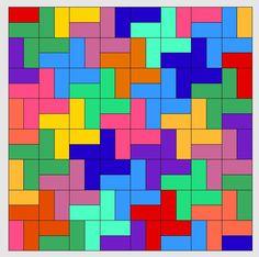 Nähanleitung für Tessellationmuster