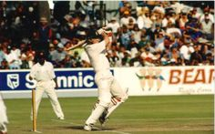 Daryll Cullinan batting, South Africa v Sri Lanka, 1st Test at Newlands, Cape Town, March 18-23 1998.