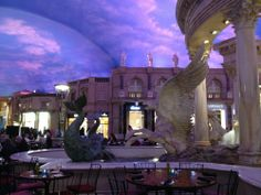 "Get your shop on at the Forum Shops inside Caesars Palace. The ""sky"" ceiling changes colors as the day goes on and there are interactive shows at the fountains. Las Vegas - Reviews of Forum Shops at Caesars Palace - TripAdvisor"