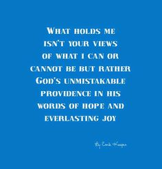 #quote #God #perception by Ernie Kasper