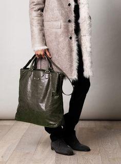 Shopper Bag, Tote Bag, Mens Satchel, Shoulder Sling, Matches Fashion, New Model, Leather Men, Balenciaga, Coat