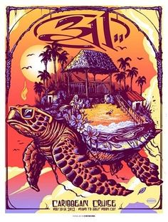 Need this tour poster! Most sought after 311 poster there is right now. Tour Posters, Band Posters, Travel Posters, Kunst Poster, Concert Posters, Poster On, Graphic Design Inspiration, Fun To Be One, Rock Art