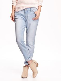Boyfriend Skinny Ankle Jeans Product Image