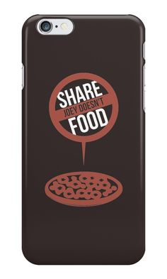 Our Joey Doesn't Share Food - Friends Phone Case is available online now for just £ 5.99.    Get the famous Joey Tribbiani quote on this cute Friends (TV series) phone case. 'Joey Doesn't Share Food'    Material: Plastic, Production Method: Printed, Authenticity: Unofficial, Weight: 28g, Thickness: 12mm, Colour Sides: Clear, Compatible With: iPhone 4/4s | iPhone 5/5s/SE | iPhone 5c | iPhone 6/6s | iPhone 7 | iPod 4th/5th Generation | Galaxy S4 | Galaxy S5 | Galaxy S6 | Galaxy S6 Edge…