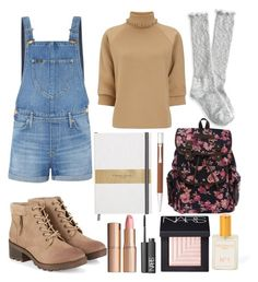 """""""#34"""" by isabellaobrien15 ❤ liked on Polyvore featuring Lee, J.W. Anderson, Aéropostale, Faber-Castell, Charlotte Tilbury, NARS Cosmetics and South Moon Under"""