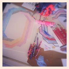 Making stuff! Photo by limedrop • Instagram