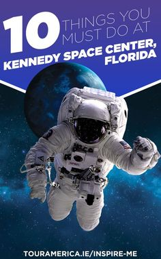 Visiting Orlando Florida this year? A trip to Kennedy Space Center is a must! Check out our top 10 things you must do at Kennedy Space Center! Kennedy Space Center is perfect for a family day out. Visit Orlando, Orlando Travel, Orlando Vacation, Orlando Florida, Vacation Trips, Family Vacations, Cruise Vacation, Usa Roadtrip, Florida Activities
