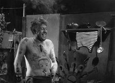 """Michel Simon dans le rôle du Père Jules; """"L'Atalante"""" de J. Vigo (Roger Parry, 1934)"""