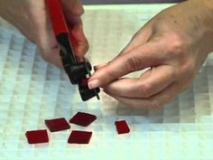 Mosaics - How to Use a Wheeled Nipper
