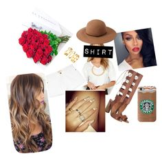 """""""Murder She Wrote."""" by jada-montiesh ❤ liked on Polyvore featuring OBEY Clothing, Current/Elliott, Zimmermann, Alessandra Rich, H&M, Philippa Craddock and Forever 21"""