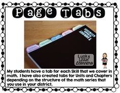 Pick up a FREE Interactive Notebook Starter Kit in Lucky Little Learners' TPT Store!